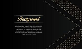 Modern Black Luxury Presentation Background