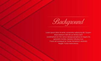 Abstract Modern Red Geometric Lines Background