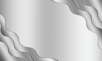Abstract Silver Wave Presentation Background