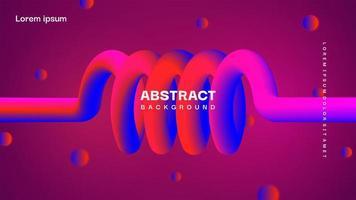 Fondo líquido abstracto colorido similar a una férula