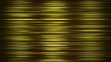 Lignes jaunes de mouvement abstrait dans le style des années 80, fond rétro d'animation en boucle video