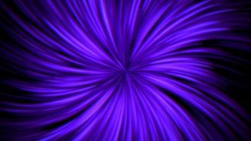 lignes bleues de mouvement abstrait dans le style des années 80, fond rétro d'animation en boucle video