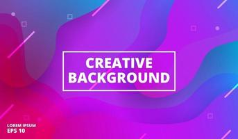 Colorful geometric background. Blue elements with fluid gradient. Vector illustration
