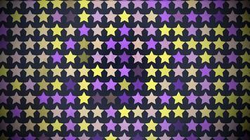 movimento padrão de estrelas coloridas, fundo abstrato