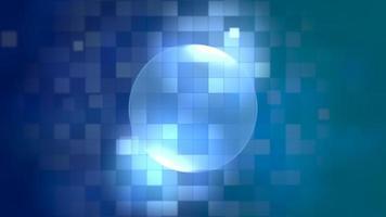 Bewegungsblauer Quadrate abstrakter Hintergrund