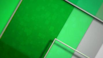 Bewegung grüner Quadrate abstrakter Hintergrund