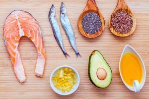 alimentos saludables con alto contenido de omega 3 foto