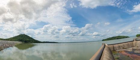 Reservoir water view