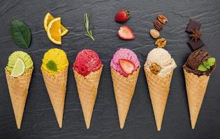 Flavorful ice cream