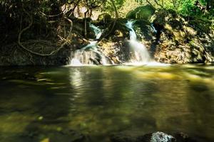 Sarika waterfall in Thailand