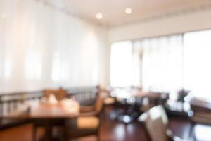Abstract defocused restaurant background