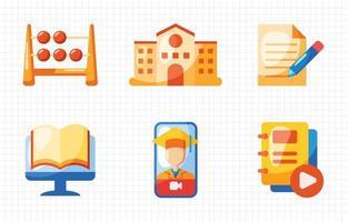 Education Icon Collection vector