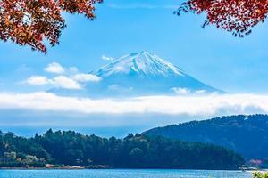 monte. fuji en yamanashi, japón