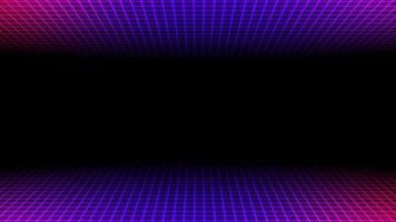rörelse retro blå och röda linjer abstrakt bakgrund
