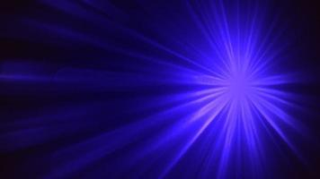 abstracte beweging blauwe lijnen in de stijl van de jaren 80, animatie retro achtergrond in een lus video