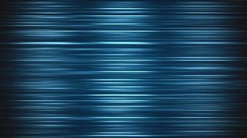 abstracte beweging blauwe lijnen met ruis in de stijl van de jaren 80, animatie retro in een lus video