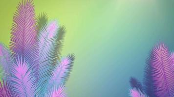 närbild tropiska blad av träd, sommar bakgrund