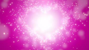 closeup corações rosa de amor, fundo do casamento