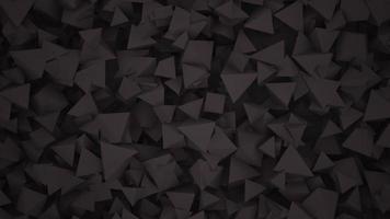 movimento formas geométricas pretas escuras, fundo abstrato video