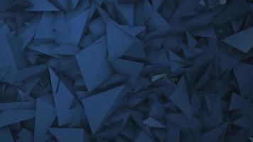formas geométricas de movimento azul, fundo abstrato video