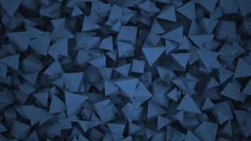 beweging blauwe geometrische vormen, abstracte achtergrond video