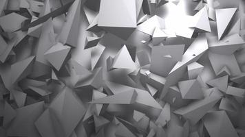 movimento formas geométricas escuras, fundo abstrato video