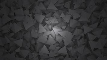 beweging donkere zwarte geometrische vormen, abstracte achtergrond video