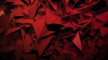 beweging rode donkere geometrische vormen, abstracte achtergrond