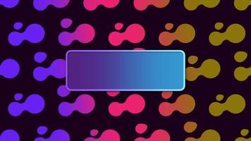 beweging abstracte geometrische vormen, kleurrijke achtergrond video