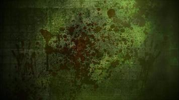 mystisk skräckbakgrund med mörkt blod och rörelsekamera. semester halloween, abstrakt bakgrund video