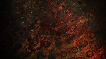 mystisk grunge skräck bakgrund med mörkt blod video