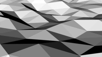 rörelse mörk svart låg poly abstrakt bakgrund video