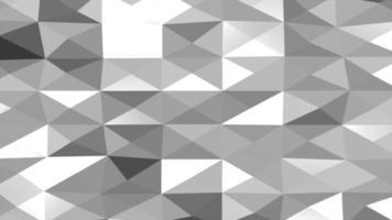 rörelse mörk vit låg poly abstrakt bakgrund video