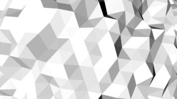 Motion dark white low poly abstract background
