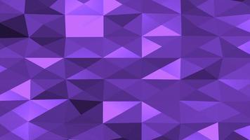 rörelse mörk lila låg poly abstrakt bakgrund video