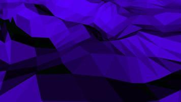 beweging donkerblauwe laag poly abstracte achtergrond