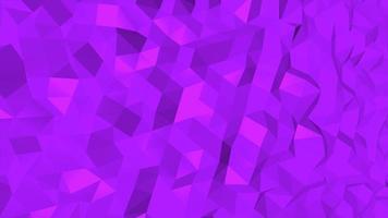 rörelse mörkblå låg poly abstrakt bakgrund video