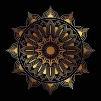 Islamic Mandala Design vector