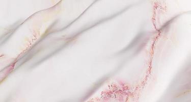 Ilustración 3d de un patrón de mármol blanco sobre una superficie ondulada