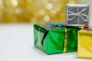 Gift box decorations