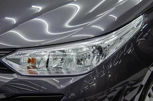 Close-up of headlights photo