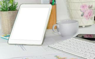 tablet screen mock-up