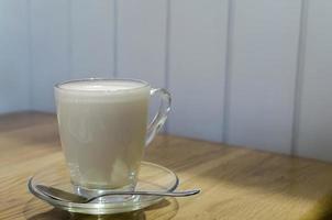 Glass of milk photo