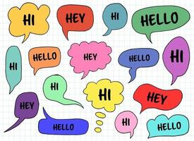 Chat box vector design illustration isolated on background