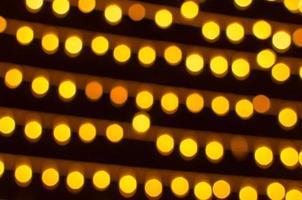 luces bokeh amarillas