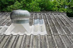 ventilación en un techo foto