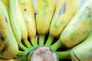 Banana ripe with texture background photo