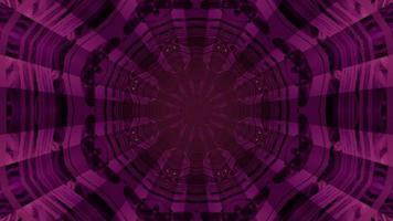 Abstract sci fi tunnel pattern 3d illustration photo