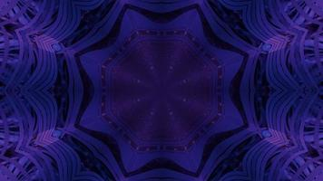 Futuristic star shaped gateway 3d illustration photo
