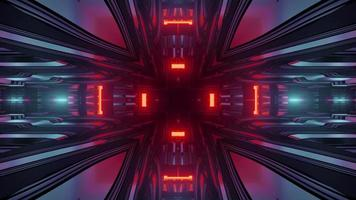 Abstract hi tech background 3d illustration photo